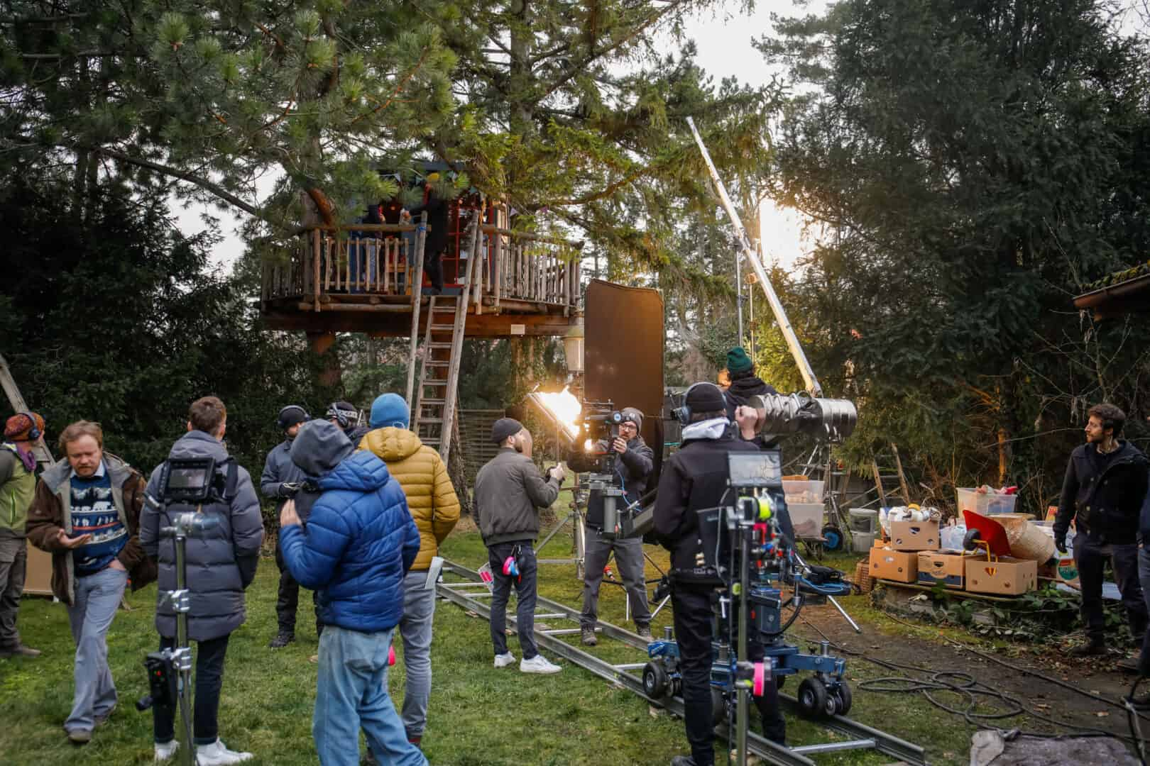 film production from Das R& in the forest