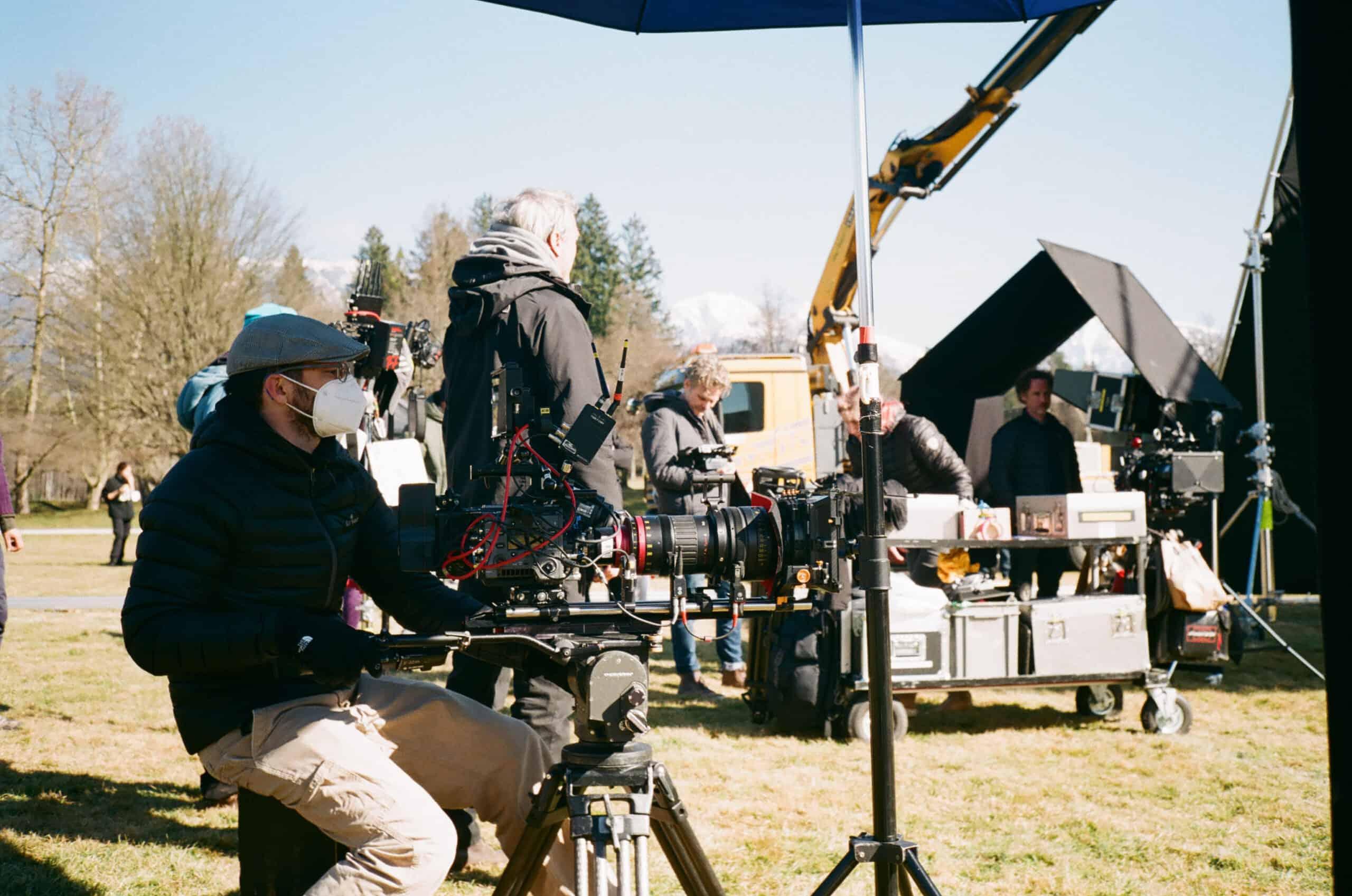 Das R& at a film shooting